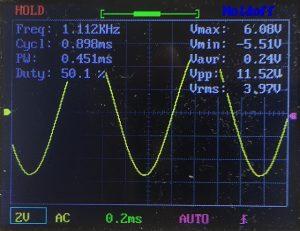 サイン波 -10dB